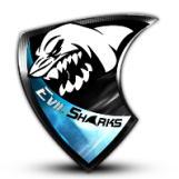 Evil Sharks Team Logo